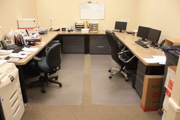 Suite 120 administrative area
