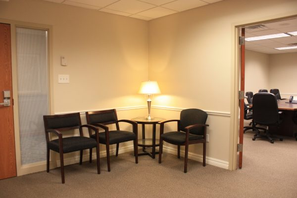 Suite 120 waiting room